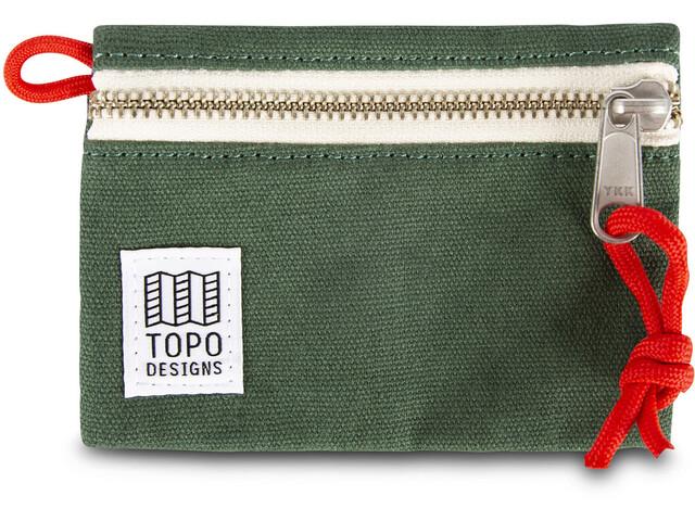 Topo Designs Accessoire Tasche S forest canvas